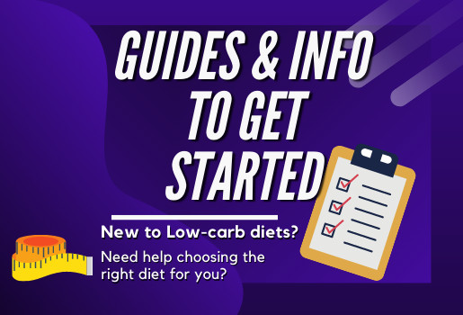 Guide to get started in keto genic diet, and other low carb and keto diets.