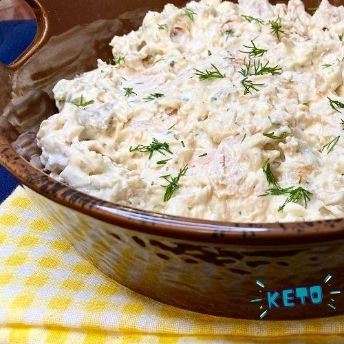 Dill chicken salad keto chicken salad