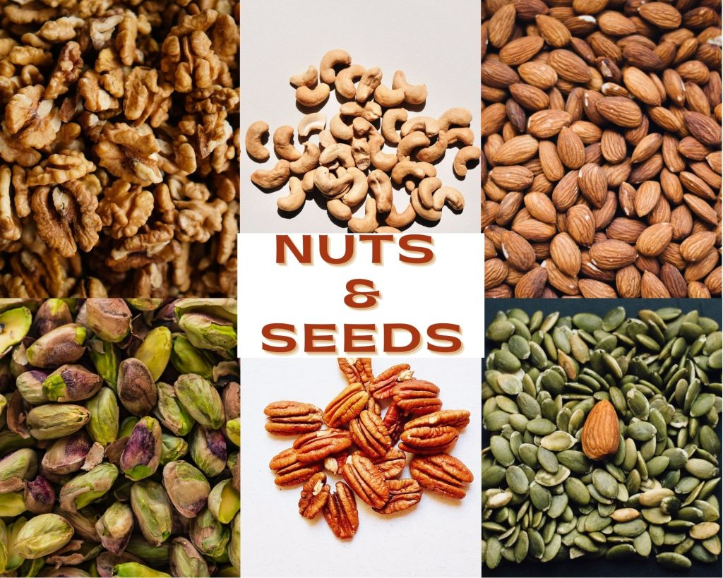 Nuts, seeds to eat while on keto