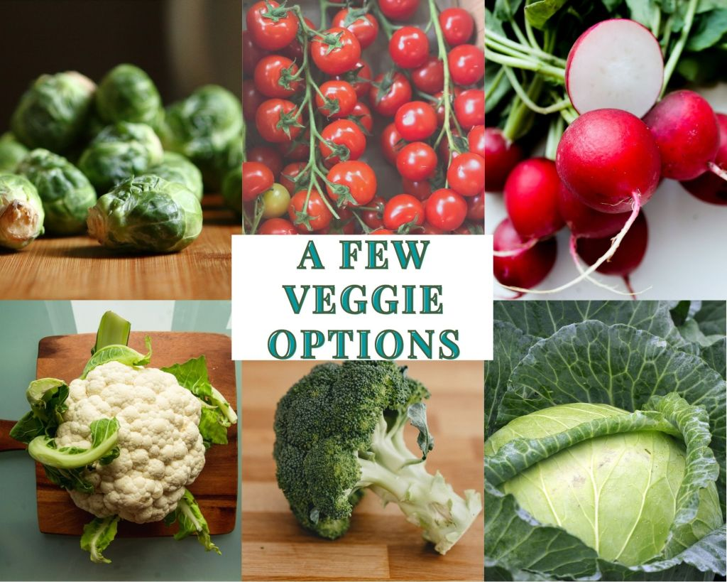 ketogenic friendly vegetables