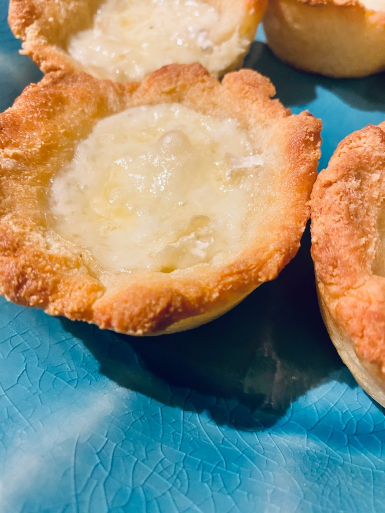Brie Jam Bites, low carb dessert